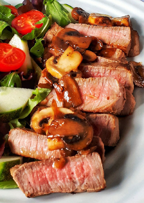 Delicious Grilled Steak