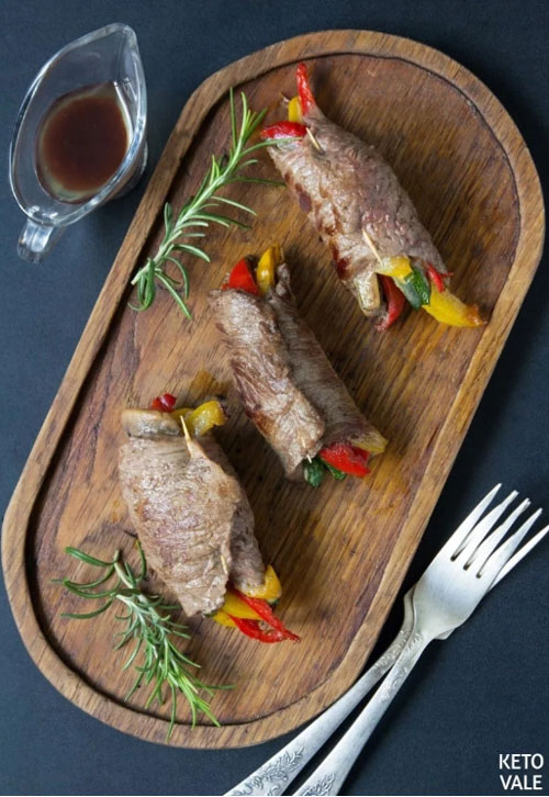 Grilled to Perfection Steak Rolls