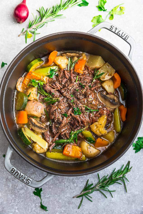 Mushrooms Pot Roast